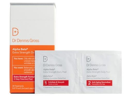 - Dr. Dennis Gross Skincare Alpha Beta Extra Strength Daily Peel - 30 packettes
