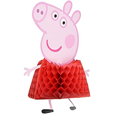 Honeycomb Decorations | Peppa Pig Collection | Party Accessory: Toys & Games