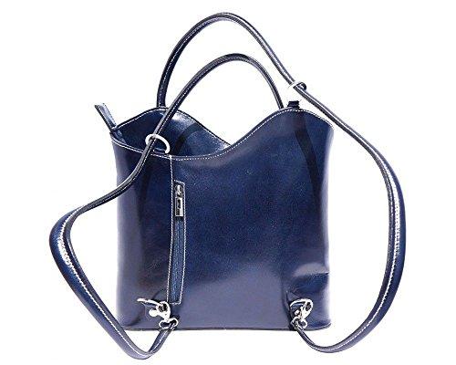 Florence Leather zaino borsa, Blue (blu) - 207