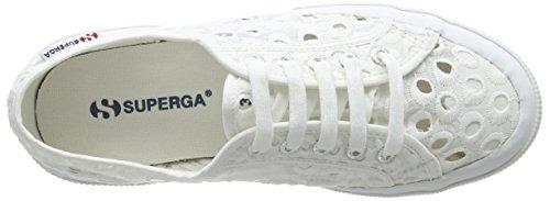 Superga Damen 2750 Embroiderycottonw Sneaker White (White)