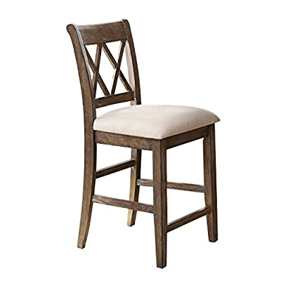 Steve Silver Company Franco Counter Chairs, Set of 2