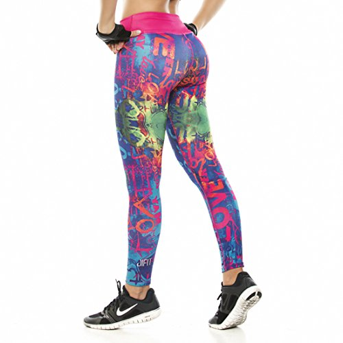 DifitSportwear Workout Tights by Difit Sportwear Yoga & Running Workout Pants Active Leggings