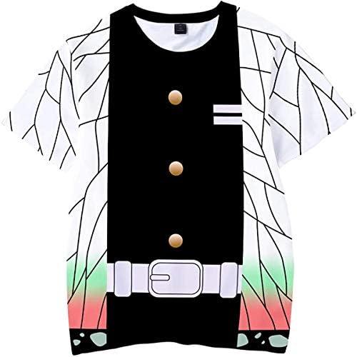 鬼滅の刃 夏用 半袖 子供服 tシャツ キッズ 男の子 女の子 半袖 記念シャツ Tシャツ 鬼滅の刃Tシャツ 100-160cm