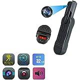 C-Xka Ultra HD 1080P Wireless WiFi Camera 130 ° Wide Angle 12 Million Mobile Phone Remote Monitor Home Mini Miniature Camera (Size : 16G Memory Card)