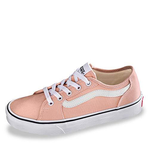 Vans Sneakers Vvh donna Decon White rosa da canvas Filmore Villa Spanish true BrqBCw7