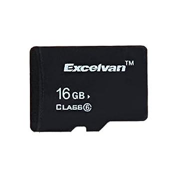 Excelvan - SD TF Tarjeta de Memoria 16Gb (Class 6, Adaptador ...