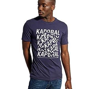 Kaporal – T-Shirt à Manches Courtes, Coupe Slim – Maker – Homme
