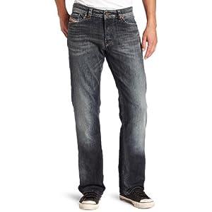 Diesel Men's Viker Regular 0885K Slim Straight-Leg Jean