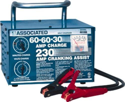 Associated Equipment ASO-6010B Heavy Duty Commercial Portable Battery Charger by Associated