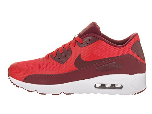 Nike Air Max 90 Ultra 2.0 Essential, Scarpe da Ginnastica Uomo Rosso (University Red/Team Red White)