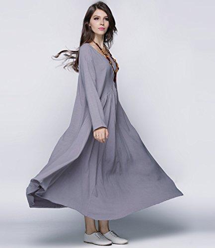 Pockets Season Gray Anysize Light 4 Clothing Y66 Seam Size Linen Sides Plus amp;Cotton O7qYSE
