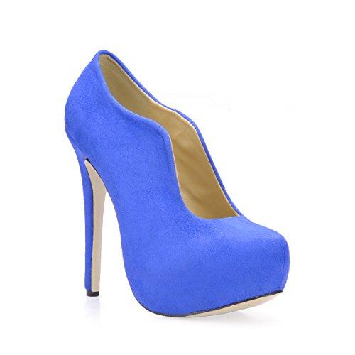 Womens Nobile Platform Stiletto Pumps Primo Nobile Blu