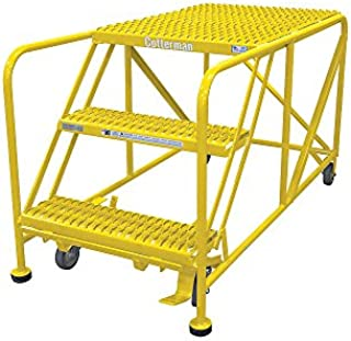 product image for Cotterman 3WP2460RA3B4B8AC2P6 - Work Platform 3 Step Steel 60In. H.
