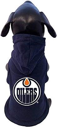 All Star Dogs NHL Unisex NHL Edmonton Oilers Cotton Hooded Dog Shirt
