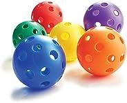 Plastic Baseballs (6-Pack)