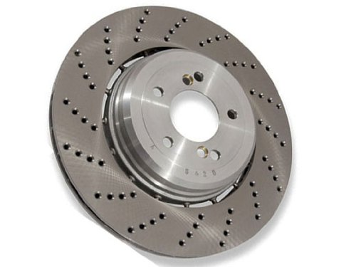 BMW e46 m3 COMPETITION Brake Disc Rear Right GENUINE floating hub ()