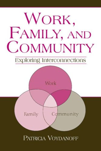 Work, Family, and Community: Exploring Interconnections (Applied Psychology Series)