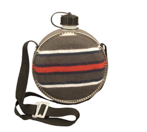 Striped 2 QT Desert Canteen With Carrying Strap by Rothco