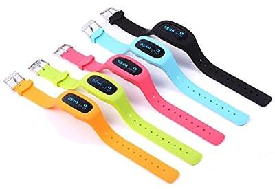iSunshineTM Fitness Tracker Wristband Pedometer Bracelet Activity Tracker, Vibration Alarm, Remote Control Smartphone Camera