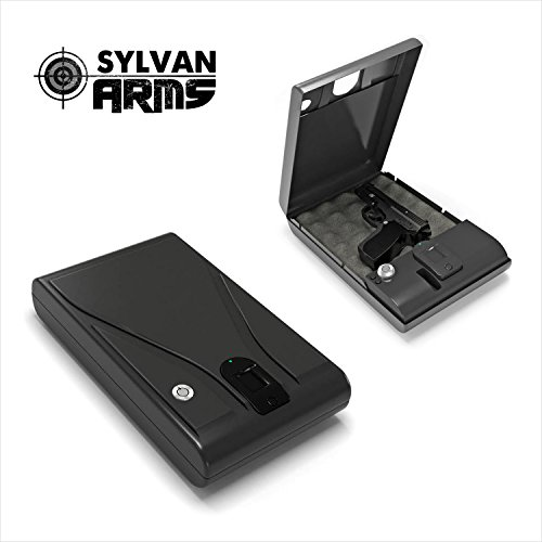 Sylvan Arms Fingerprint Vault Biometric Handgun Gun Pistol Jewelry Safe