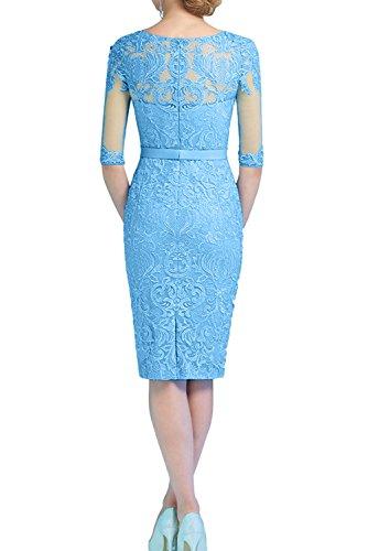 Mujer Corte para Vestido Trapecio Topkleider Wassermelone o 42 A en tBwq0qT