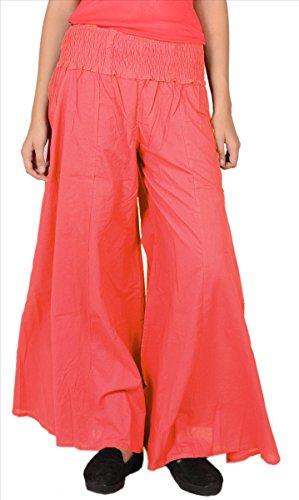 SNS palazzo Peach in Pantaloni puro lunghi cotone wFnqgZwC