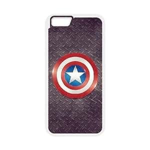 iPhone6 Plus 5.5 inch Phone Case White captain-americ ZGC408263