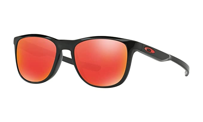 6c73f0fa79 Image Unavailable. Image not available for. Colour  Oakley TRILLBE X  OO9340-02 Black Wayfarer Sunglass ...