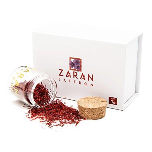 Zaran Saffron, [SUPER NEGIN] Persian Saffron (1 gram/.035oz)