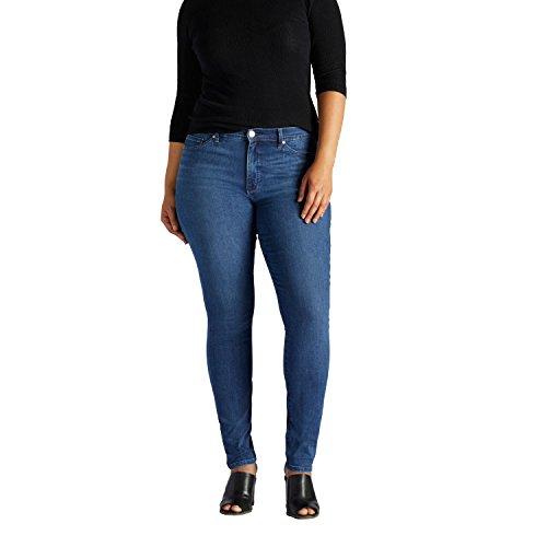 Fantasy Long Seat - LEE Women's Plus Size Slimming Fit Rebound Skinny Leg Jean, Fantasy, 22W Long