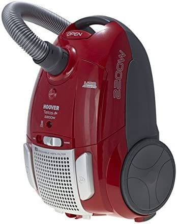 Hoover aspiradora Plus TTE2203 rojo 2200 Watt rueda en bolsa para aspiradora: Amazon.es: Hogar
