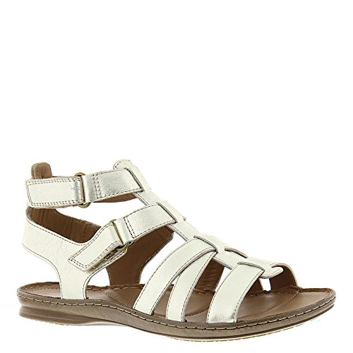 Artisan By Clarks Womens Sarla Choir Casual Sandal Champagne 6.5 M US Leather Comfort Sandals