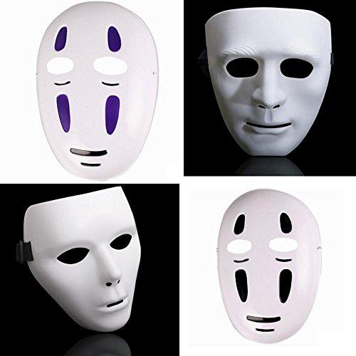 [Dongcrystal 4Pcs Jabbawockeez Hiphop Mask Halloween Cosplay Costume Mysterious Party Dance Mask] (Jabbawockeez Costumes Halloween)