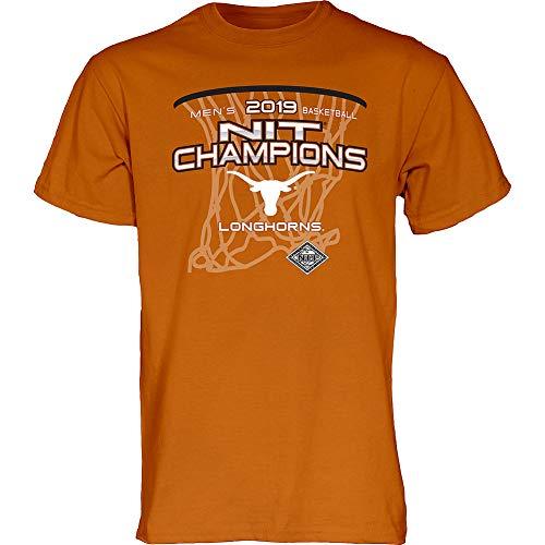 Elite Fan Shop Texas Longhorns NIT Basketball Championship Tshirt 2019 - XXL - Orange