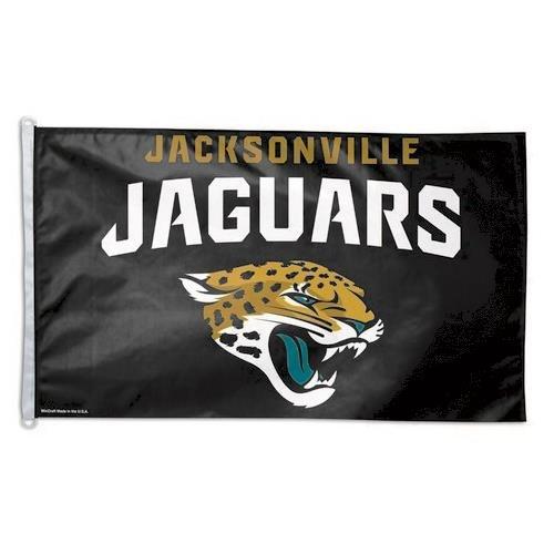 Jacksonville Jaguars Flag - 3 x 5 Jaguars House Flag