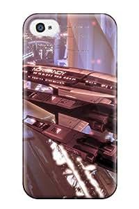 High Grade ZippyDoritEduard Flexible Tpu Case For Iphone 4/4s - Mass Effect 2 Video Game Other