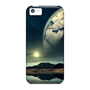 Premium Durable Space Fashion Tpu Iphone 5c Protective Case Cover