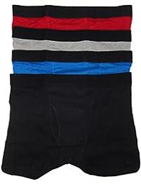 Bodyglove Men's Boxer Briefs, Size Large 36/38, Color Multi, (Pack of 4)