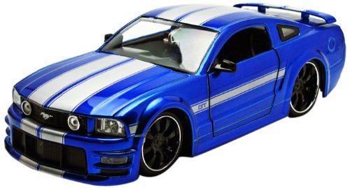 Jada 2006 Ford Mustang GT - Wheel M-8 Vehicle -  Jada Toys, 90658gry