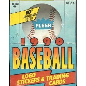 1990 Fleer Baseball Card Unopened Hobby Box (Sosa (Nhl Sp Authentic Trading Card)
