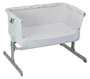 Chicco Next2me - Cuna de colecho con anclaje a cama y 6 alturas, color azul