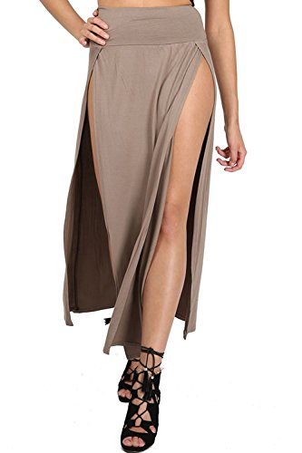 plus double split skirt - 1