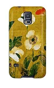 Best New Tpu Hard Case Premium Galaxy S5 Skin Case Cover(japanese Art) 3961767K24826926