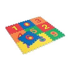 EDUSHAPE Edu Tiles-Numbers-10 Pcs
