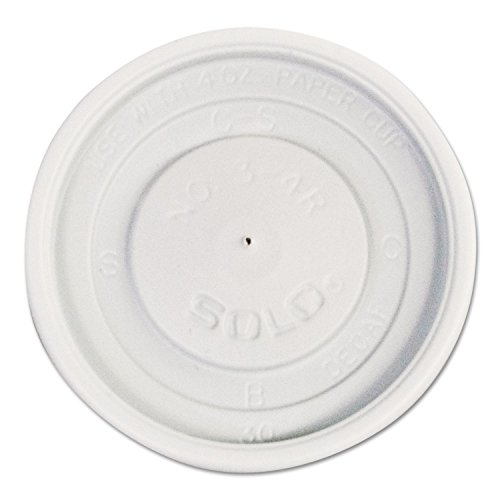 4 Cartons Ounce (Polystyrene Vented Hot Cup Lids, 4oz Cups, White, 100/pack, 10 Packs/carton)