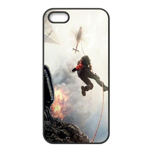 901 San Andreas 2015 Movie L coque iPhone 5 5S cellulaire cas coque de téléphone cas téléphone cellulaire noir couvercle EOKXLLNCD21170