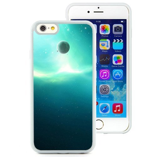 Custom Designed Cover Case For iPhone 6 4.7 Inch TPU With Pure Starry Planet Outer Space (2) Phone Case Diy ka ka case (Speck Iphone 5c Case Space compare prices)