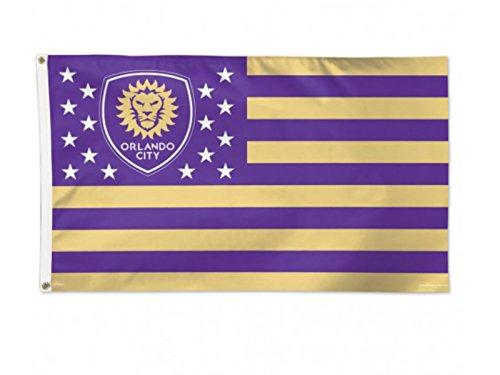 WinCraft Orlando City SC MLS Purple America Deluxe Indoor Outdoor Flag (3′ x 5′) Review