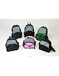 Super-Mini Backpacks for EnteraLite Feeding Pumps - Green/Gray