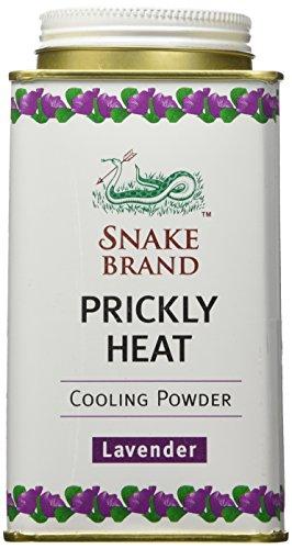 Snake Brand Prickly Heat Cooling Powder Lavender 140 grams